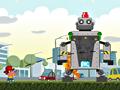Рогатка против роботов