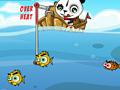 Панда рыбак