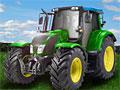 Трактор на ферме