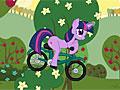 Велосипедные гонки маленьких пони