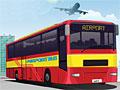 Парковка автобуса в аэропорту 3