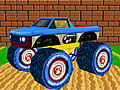 3Д грузовик-монстр Марио