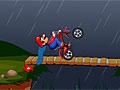 Спасение на велосипеде Марио