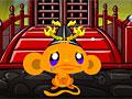 Счастливая обезьянка: Ниндзя 3