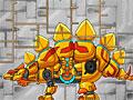 Роботы динозавры: Золотой Стегозавр