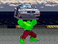 Халк: Уничтожение автомобилей