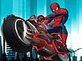 Скачать игру человек паук на мотоцикле