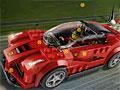 Лего автомобиль: Скрытые шины