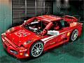 Лего гонщик пазл