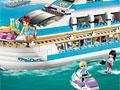Лего на лодке