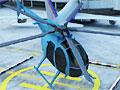 Вертолет на парковке