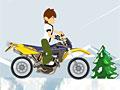 Бен 10: Зимняя поездка на мотоцикле