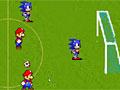 Футбол: Марио против Соника