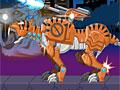 Дино робот: Саблезубый тигр