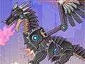 Военный робот черный дракон