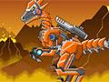 Роботы динозавры: Военный раптор