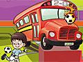 Футбольная парковка автобуса