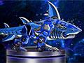 Роботы динозавры: Акула