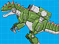 Военный робот гиганотозавр