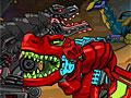 Приключения робота динозавра