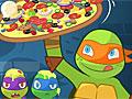 Черепашки ниндзя готовят пиццу