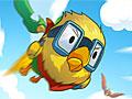 Полет желтой птицы
