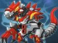 Супер робот динозавр истребитель