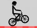 Стикмен на велосипеде