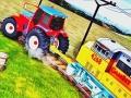 Симулятор трактора тягача поезда