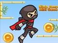 Ниндзя прыгает